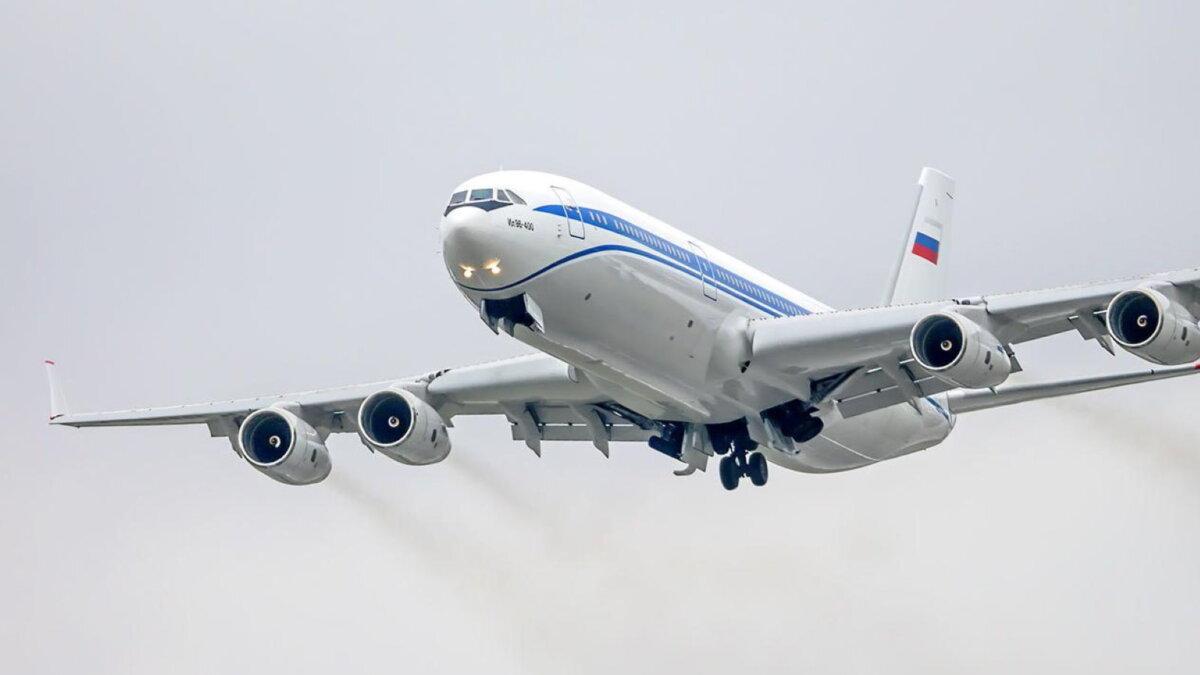 Самолёт Ил-96-400М