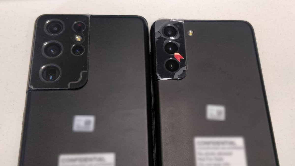 Раскрыта внешность смартфонов Samsung Galaxy S21+ и Galaxy S21 Ultra