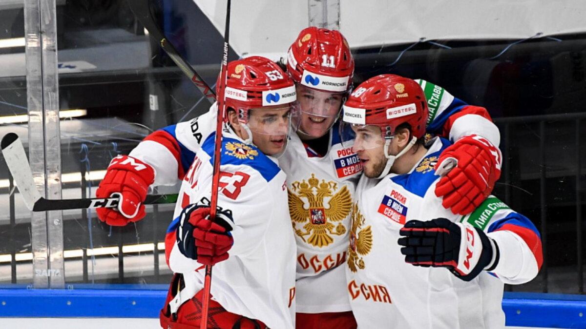 Сборная России по хоккею Кубок Первого канала победа