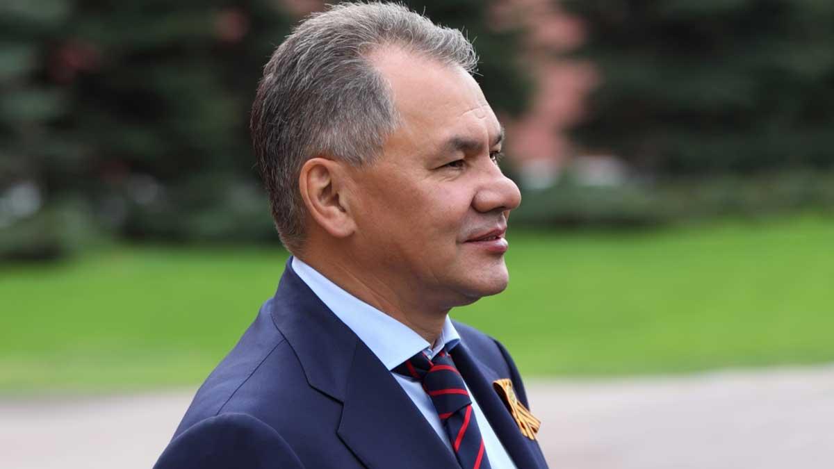 Сергей Шойгу Minister Sergey Shoigu