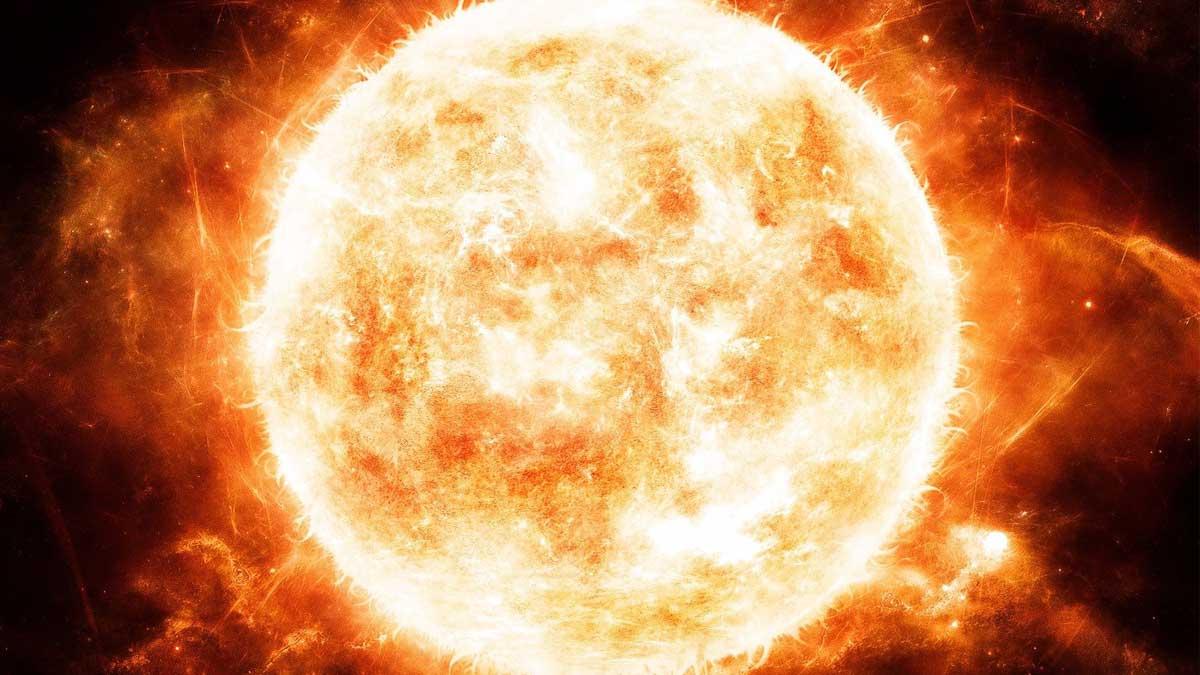 Солнце горячее огонь sun hot