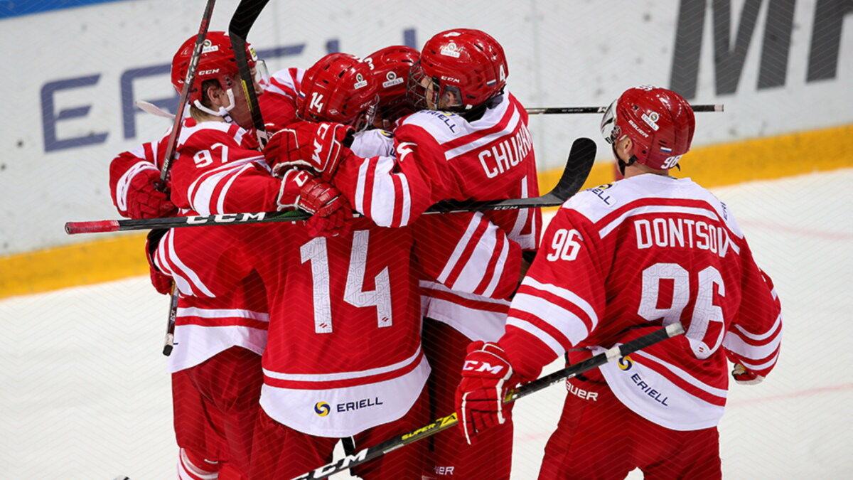 Спартак победа хоккей