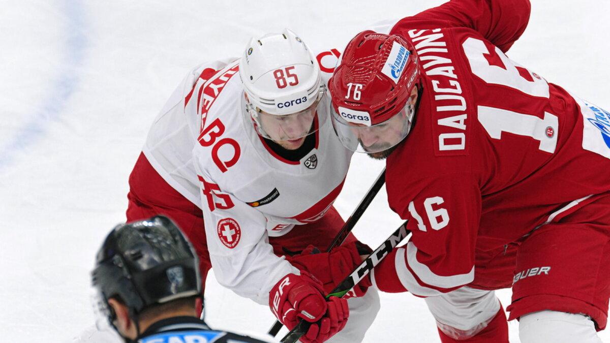 Спартак - Витязь хоккей