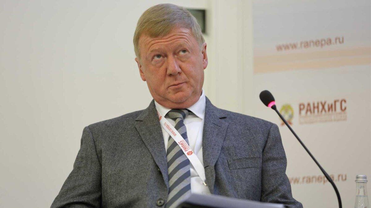 Спецпредставитель президента по целям устойчивого развития Анатолий Чубайс