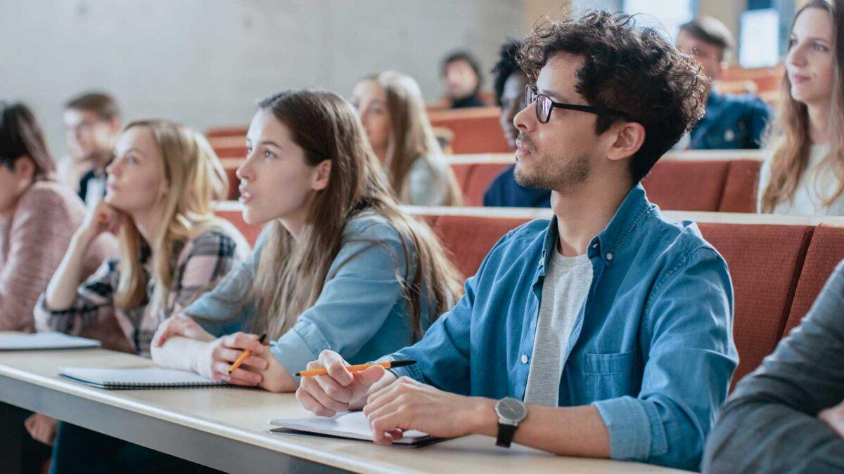 Студенты класс учеба
