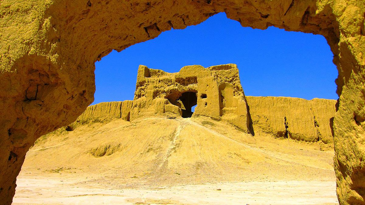 Тепе-Гиссар древнее поселение эпохи энеолита и бронзового века Иран
