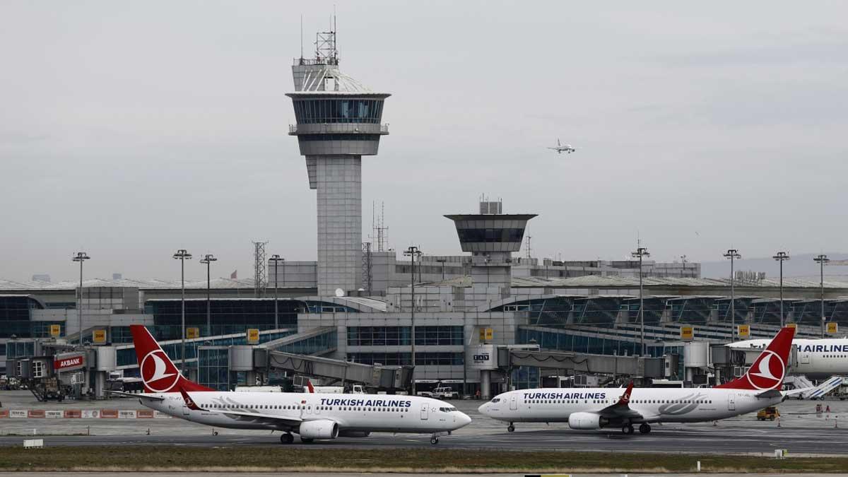 Турция аэропорт самолеты