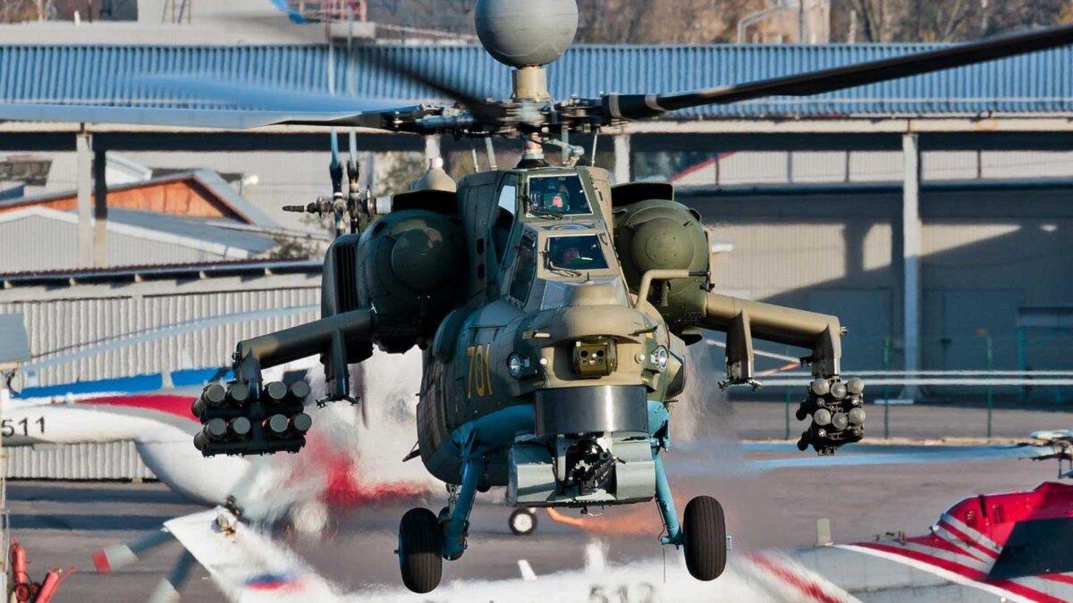 Ударный вертолет ми-28нм