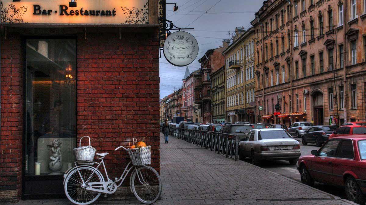 Улица Рубинштейна в Санкт-Петербурге