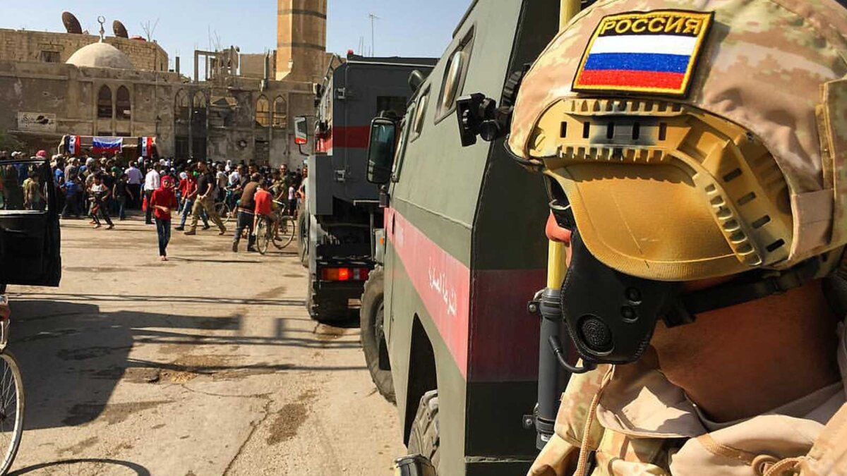 Военная полиция в Сирии Тигр