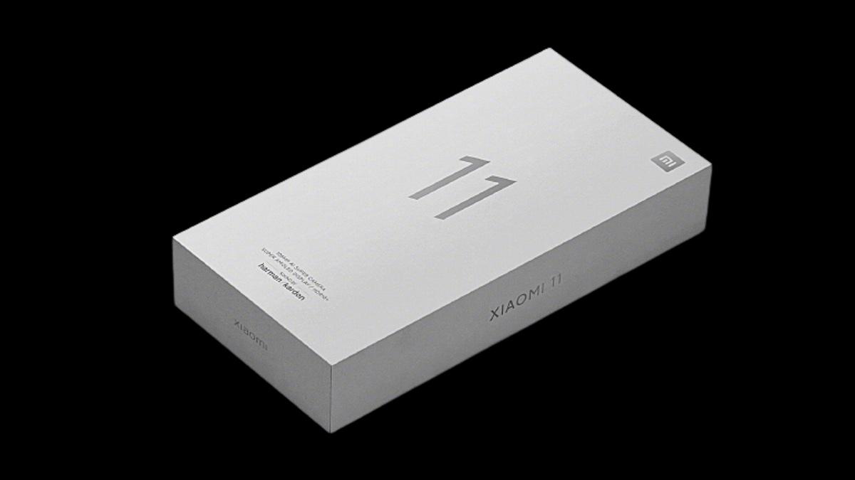 Xiaomi Mi11 коробка