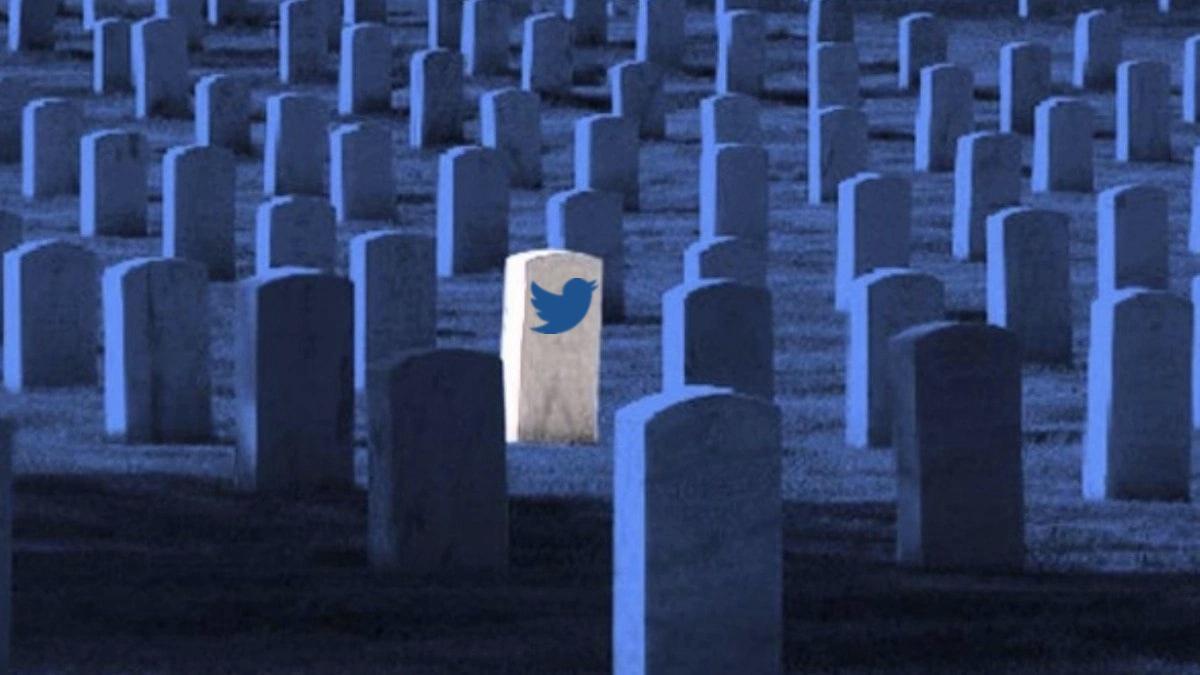 аккаунт twitter умершего человека