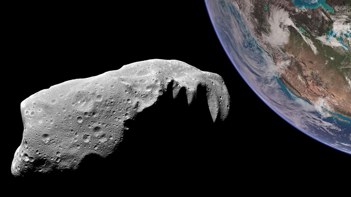 астеройд метеорит приближается к земле