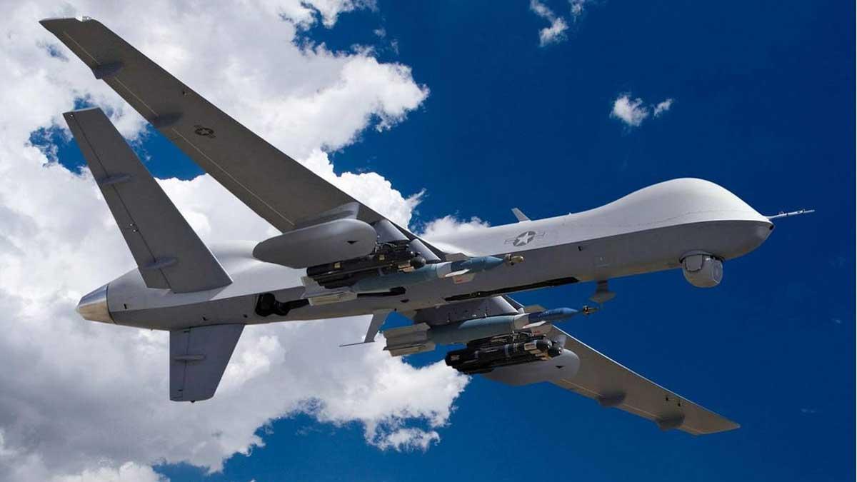 беспилотник MQ-9 Reaper Военно-воздушных сил (ВВС) США