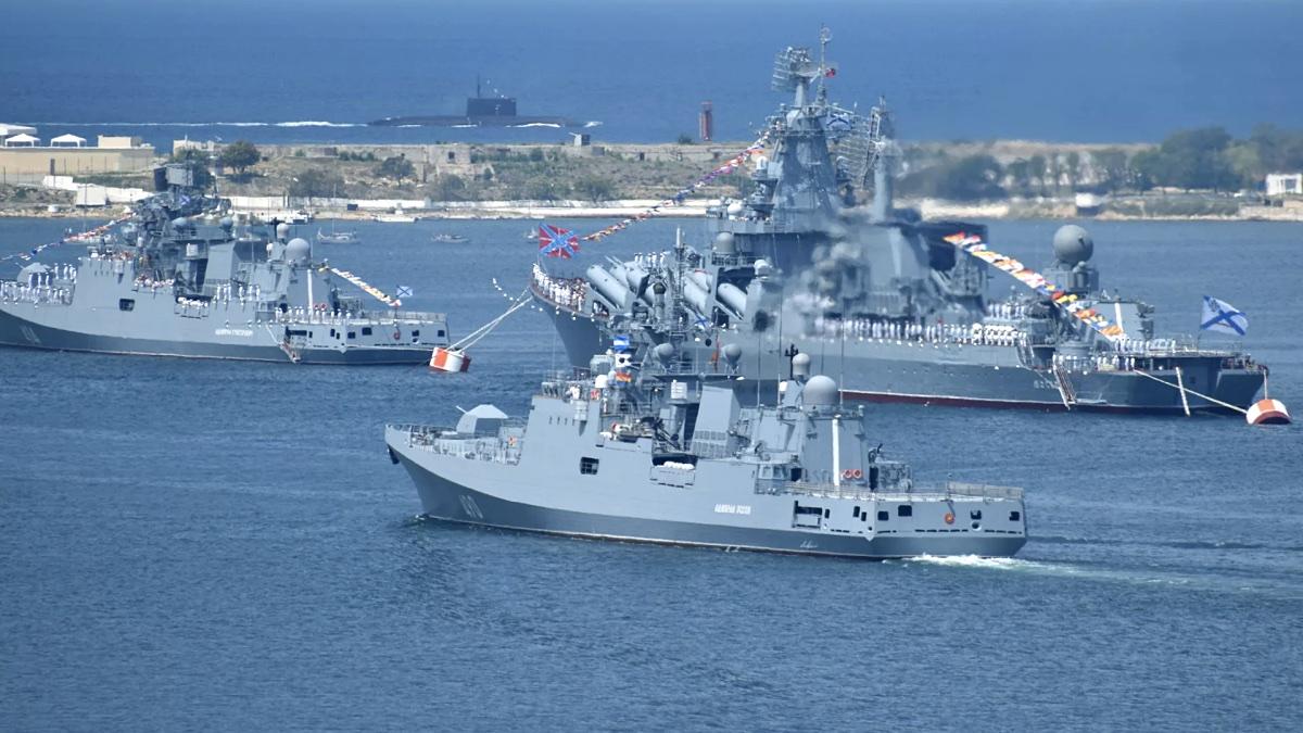 Корабли ВМФ России в Севастополе