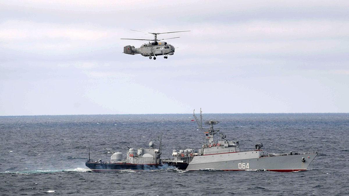 черноморский флот ВМФ России учения