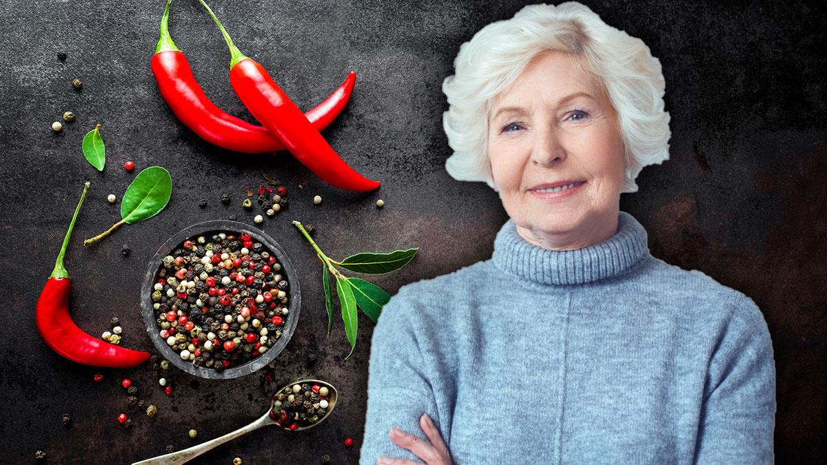долголетие чили перец пожилая женщина