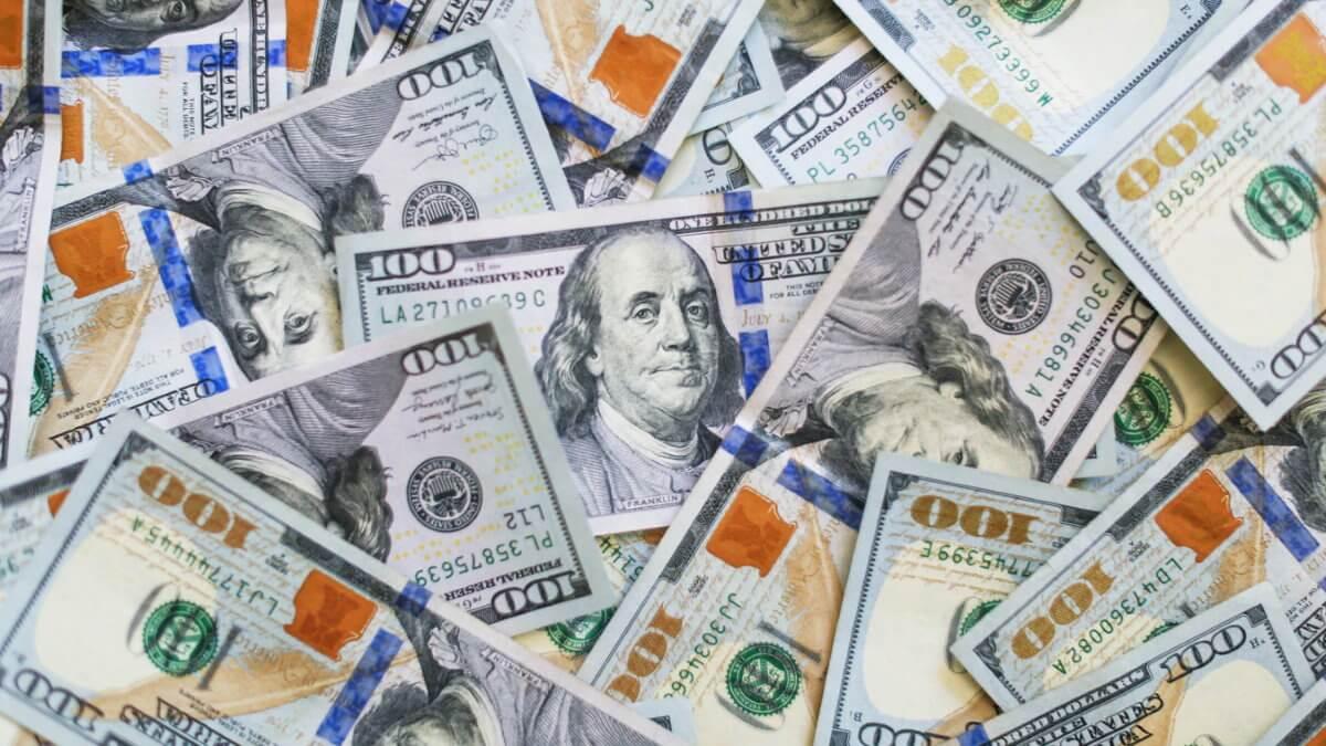 Доллары деньги долларовый миллионер
