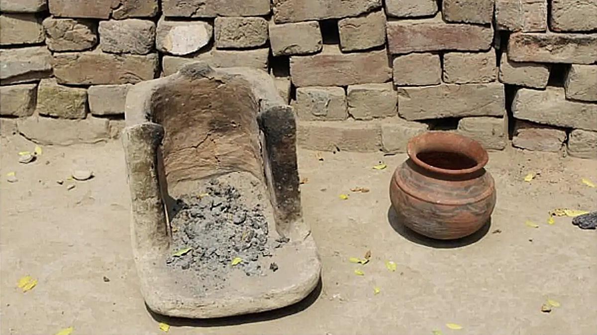 древнеиндийская кухонная утварь