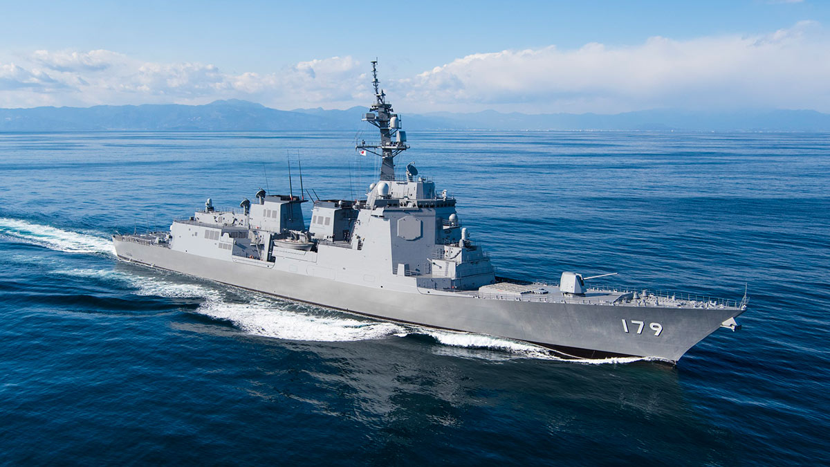 эсминец майя боевой корабль Япония Maya