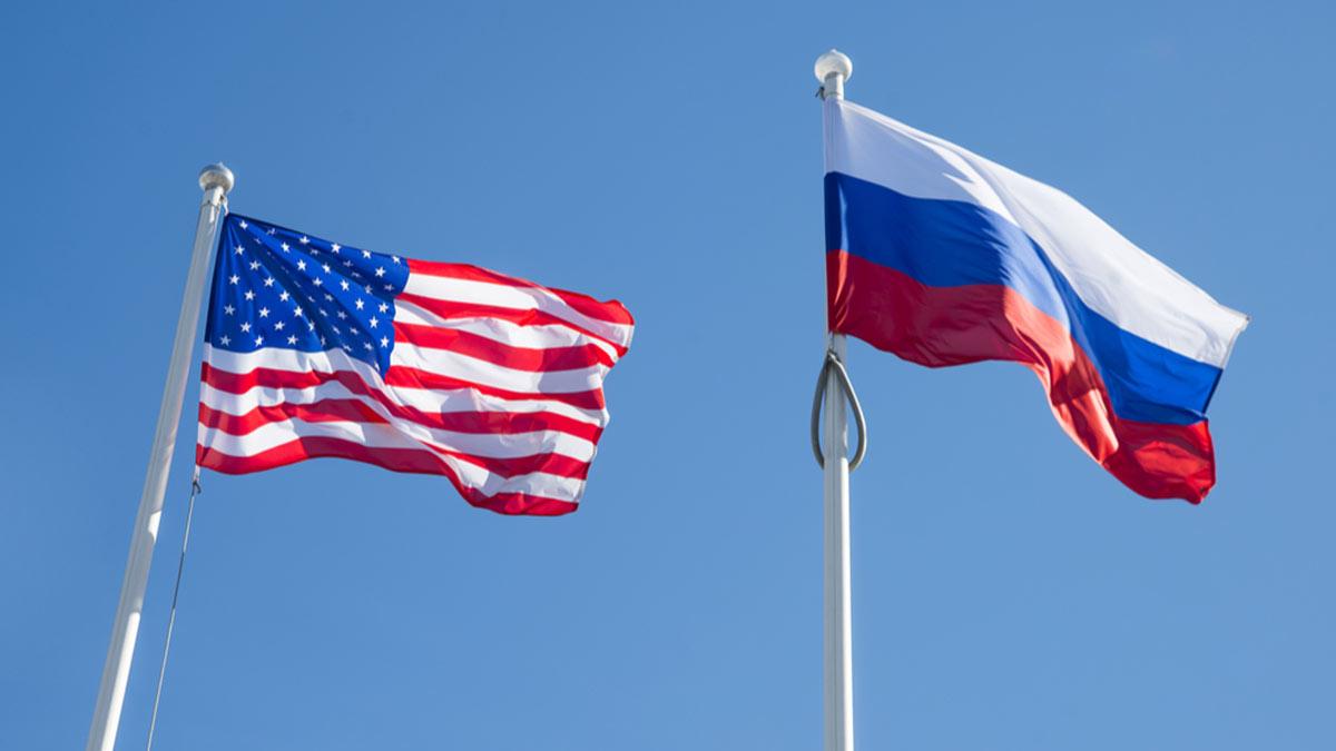 флаги россии РФ и сша