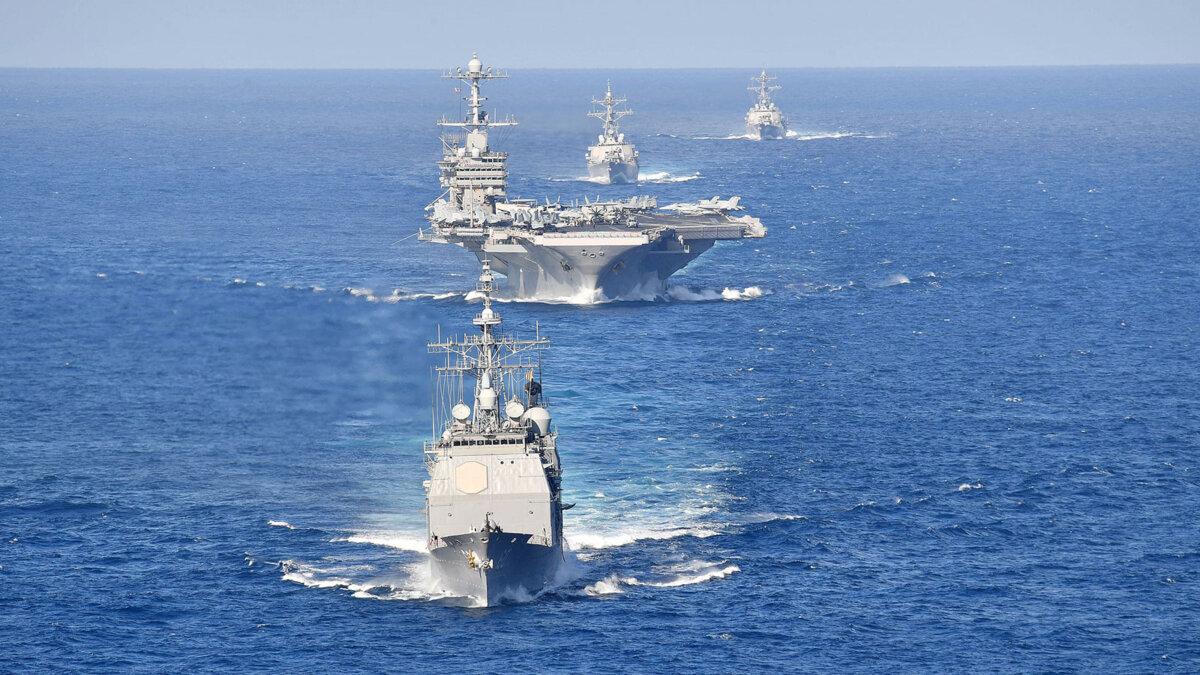 флот корабли вмс сша в атлантическом океане
