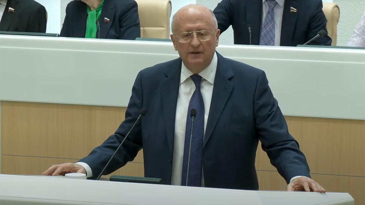 Александр Гинцбург выступление трибуна заявление совет федерации