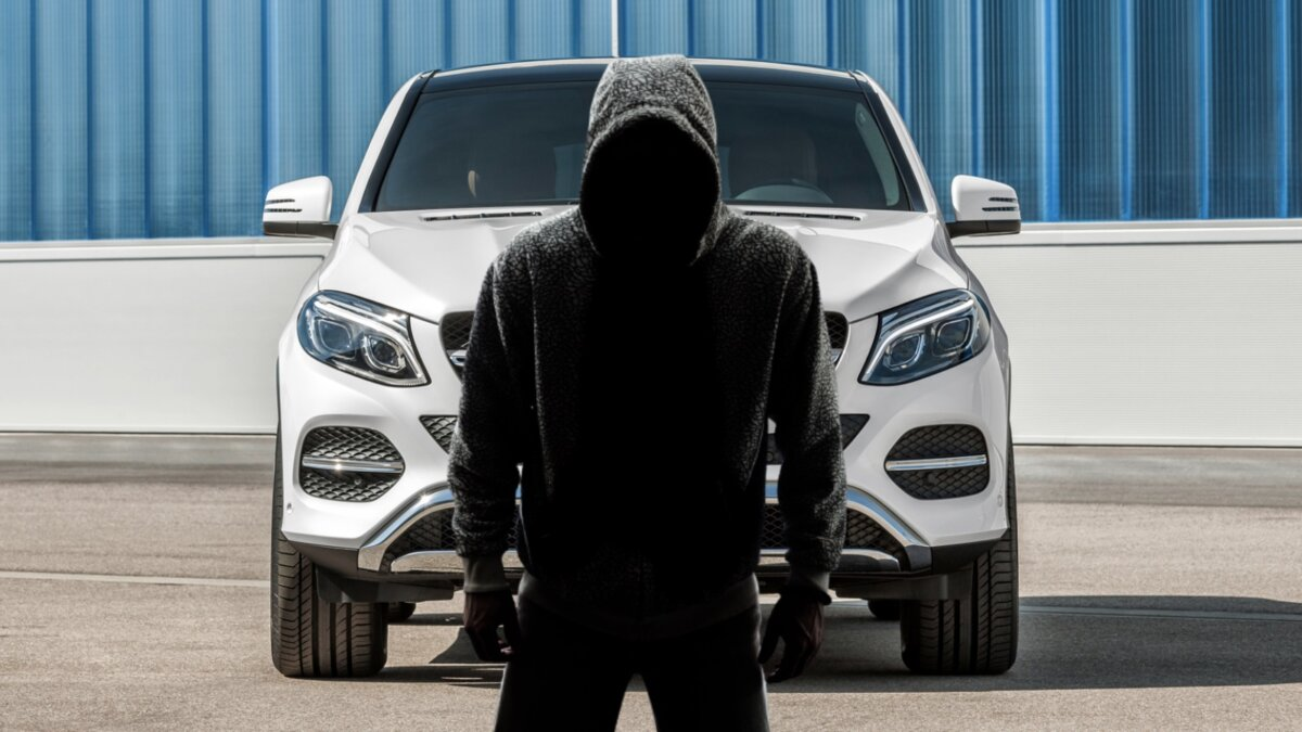 Mercedes GLE - самый угоняемый автомобиль