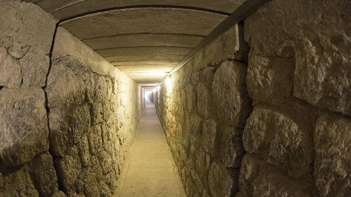 древнеримские тоннели в Турции