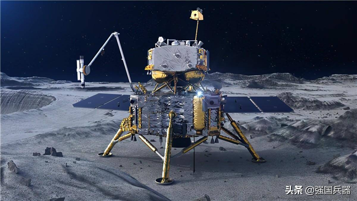 Миссия Чанъэ-5 забор грунта на Луне