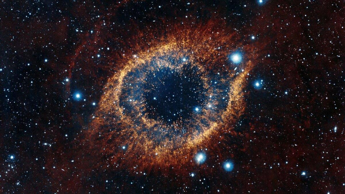 космос туманность улитка