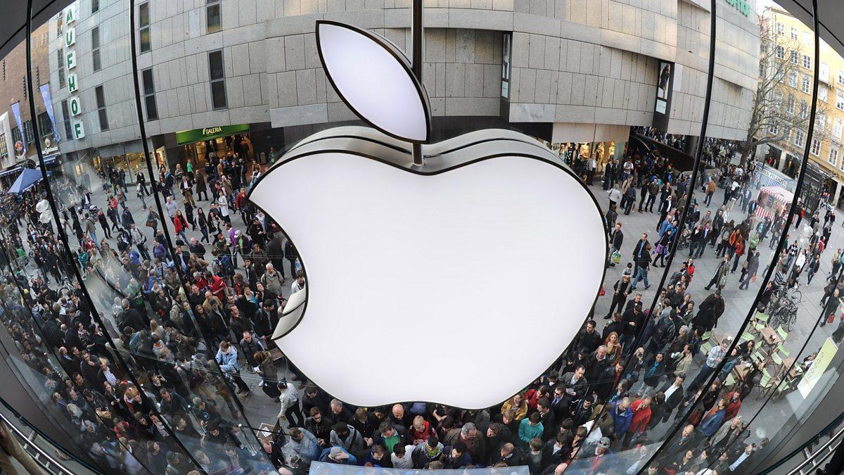 Apple в отражение