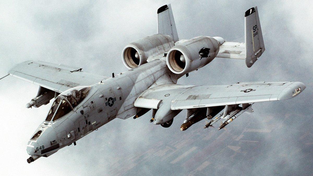 А-10 Thunderbolt II, американский одноместный штурмовик