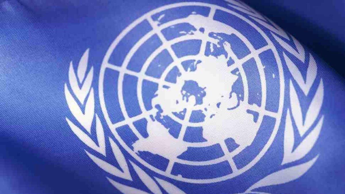 ООН флаг эмблема