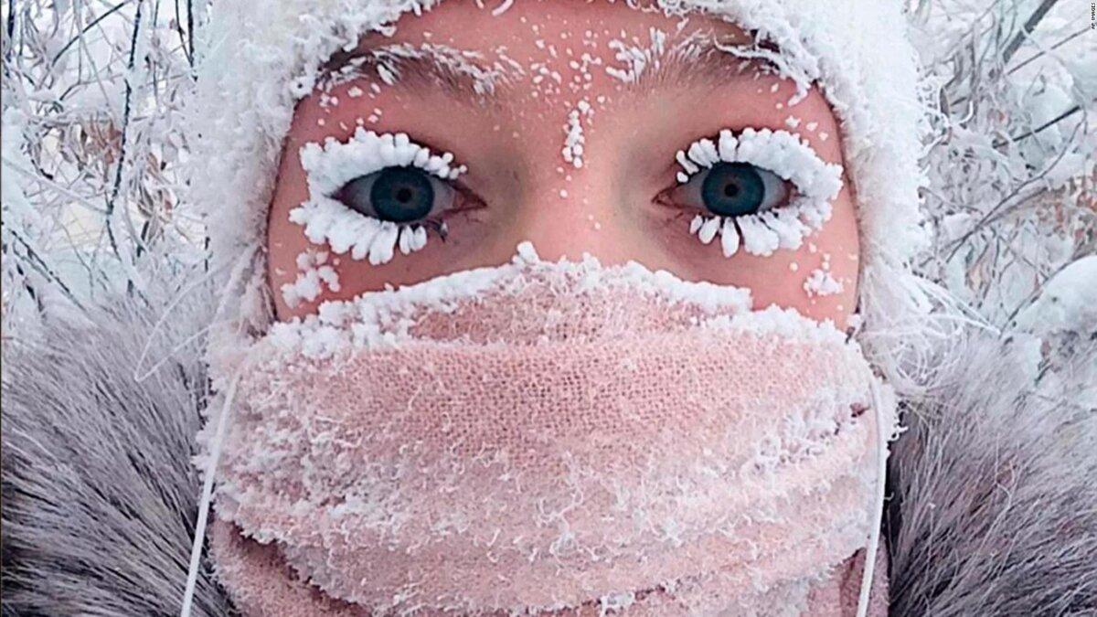 Ношение маски в мороз