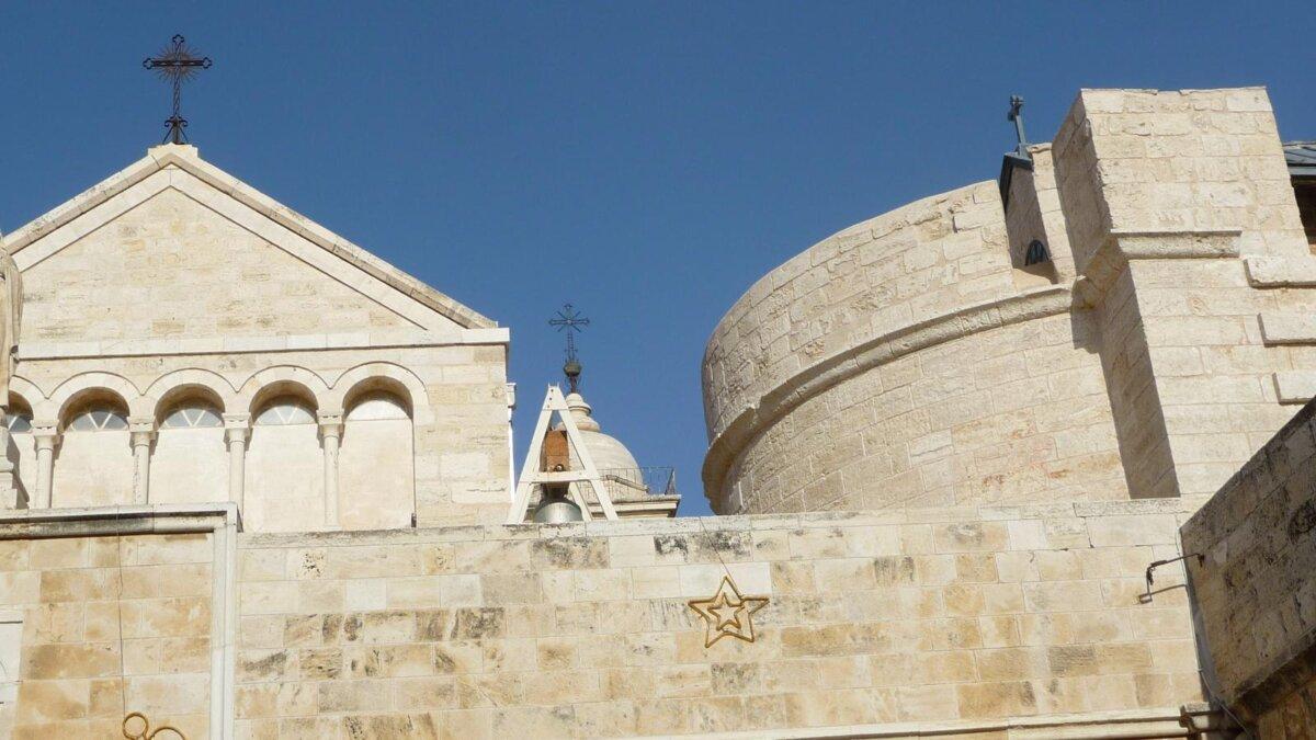 Базилика Рождества Христова Иерусалим