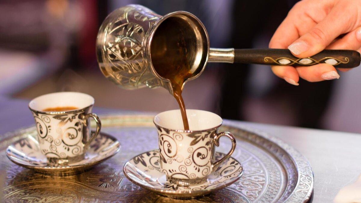 кофе турка джезва