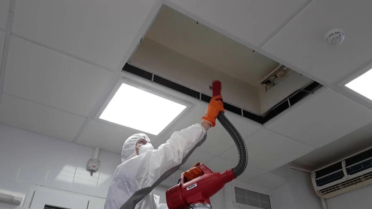 санобработка системы вентиляции