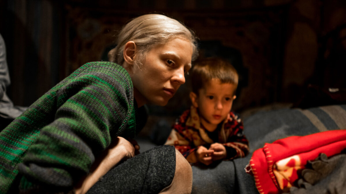 кадр из фильма Дылда Кантемира Балагова