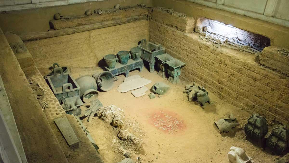 комплекс гробниц Китай tombs China