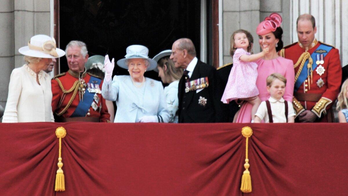 королевское семейство великобритании