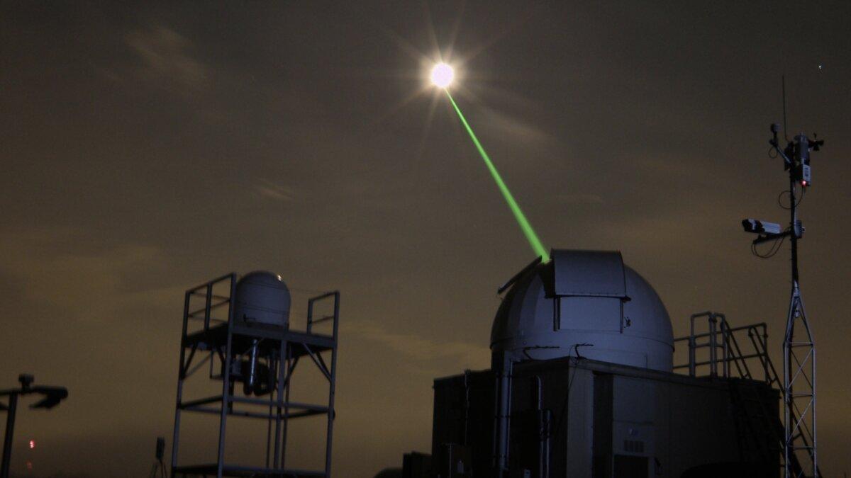 лазерное оружие для космоса