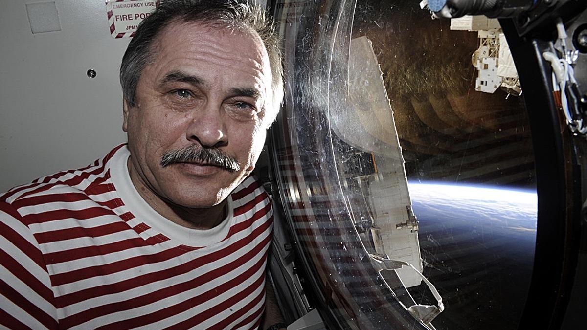 космонавт Павел Виноградов