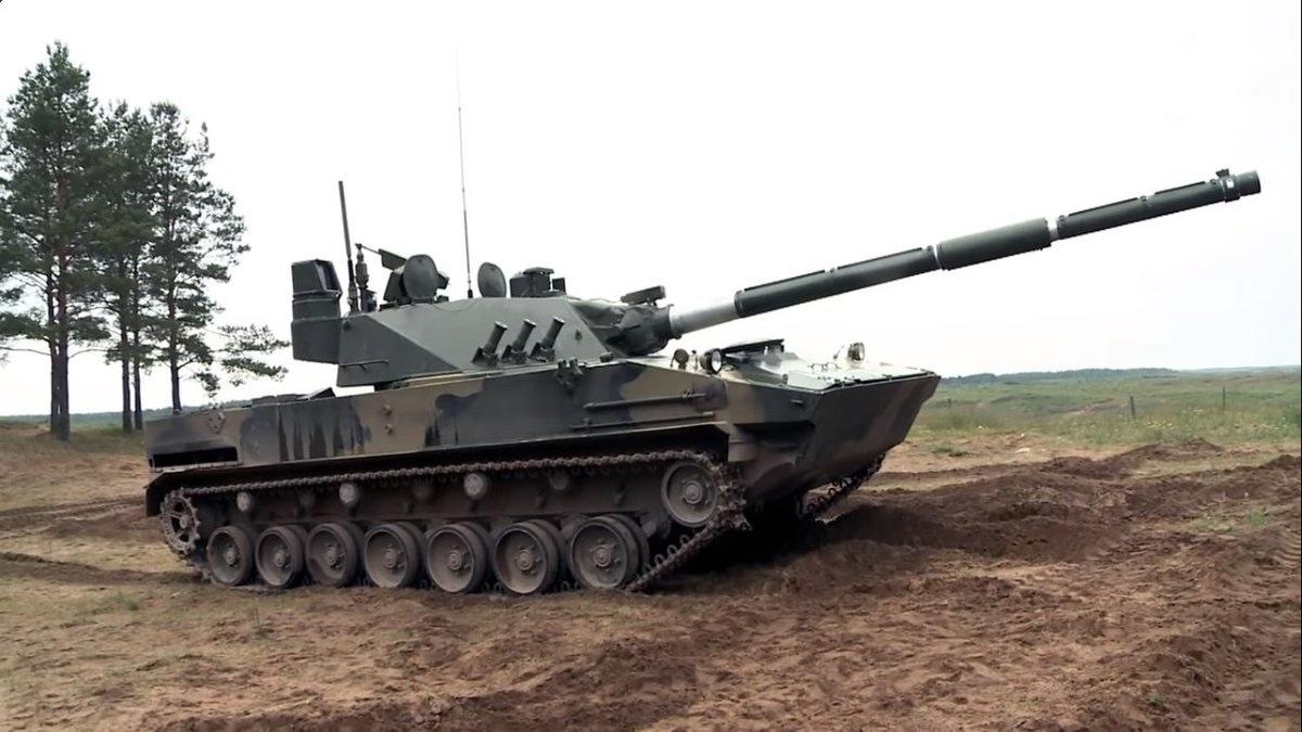 легкий плавающий танк Спрут-СДМ1