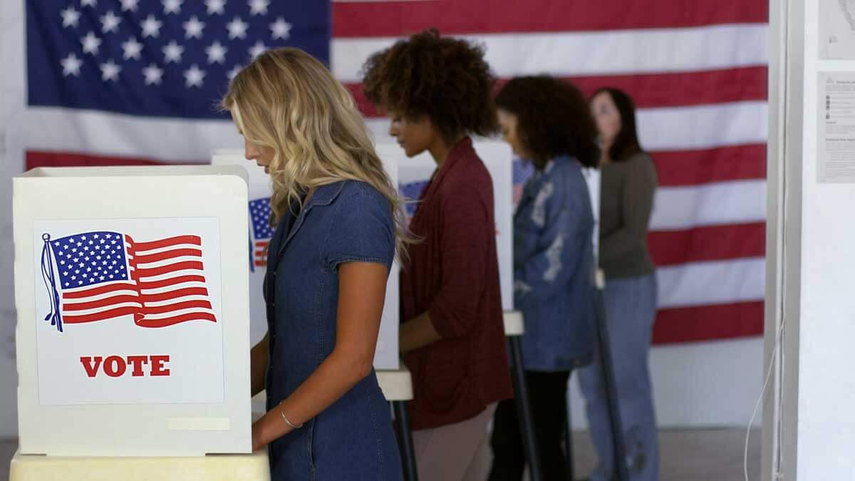 люди голосуют выборы сша