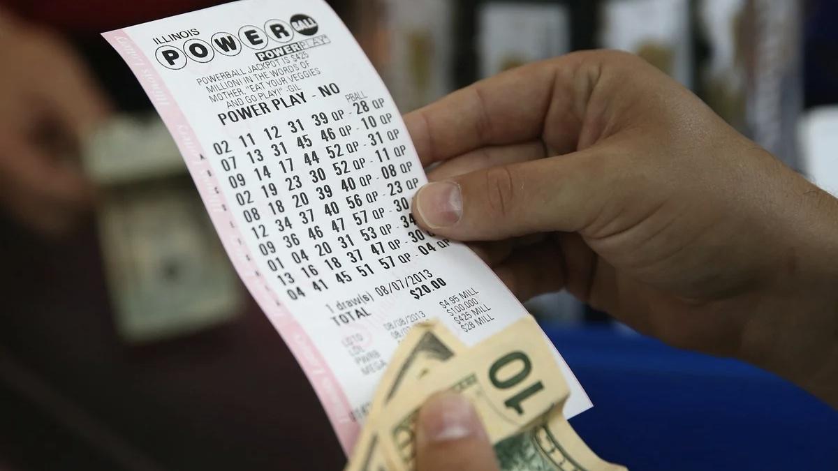 лотерейный билет США