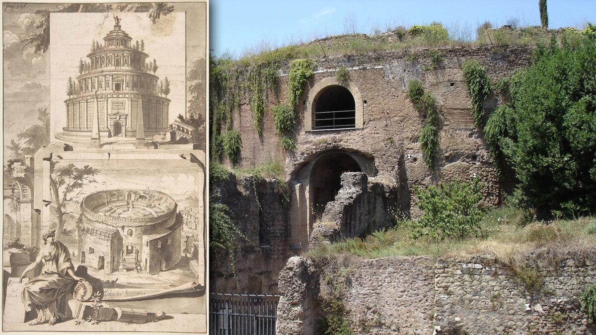 мавзолей Августа на Марсовом поле в Риме