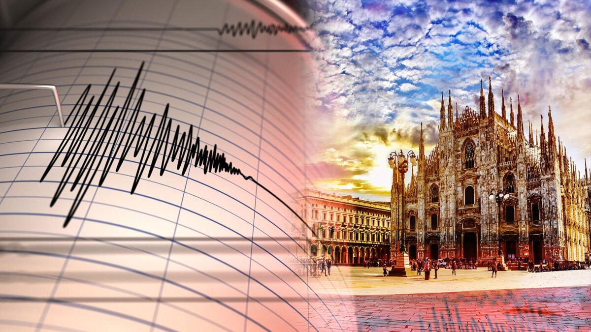 милан землятресение сейсмограф