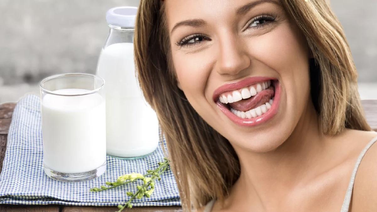 молоко и здоровье зубов