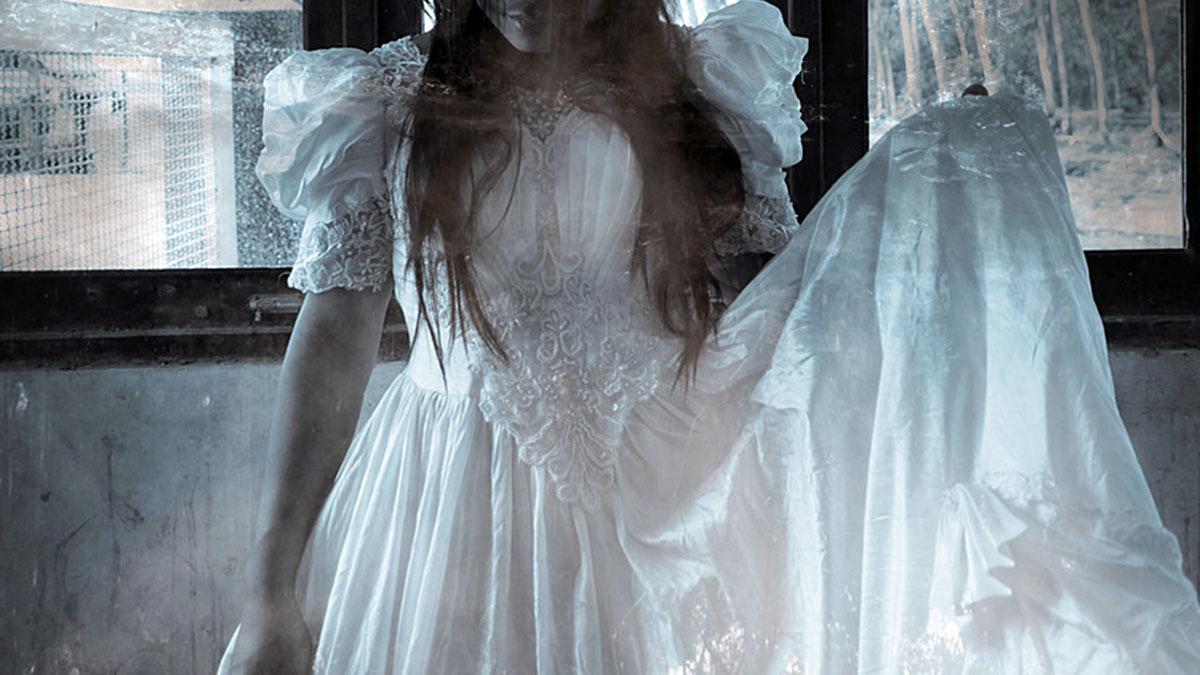свадебное платье невеста призрак